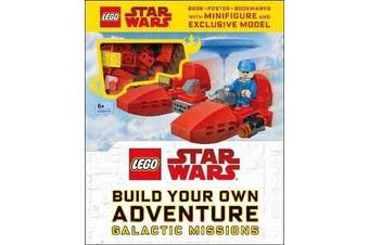 LEGO Star Wars Build Your Own Adventure Galactic Missions - With LEGO Star Wars Minifigure and Exclusive Model