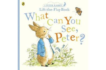 What Can You See Peter? - Very Big Lift the Flap Book