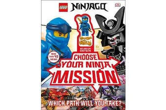 LEGO NINJAGO Choose Your Ninja Mission - With NINJAGO Jay minifigure