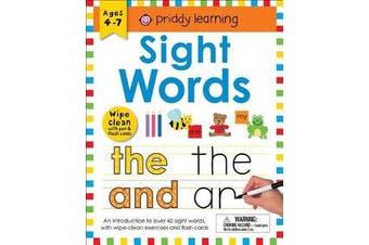 Wipe Clean Workbook - Sight Words (Enclosed Spiral Binding)