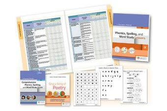 Fountas & Pinnell Word Study System - Phonics, Spelling, and Vocabulary, Kindergarten