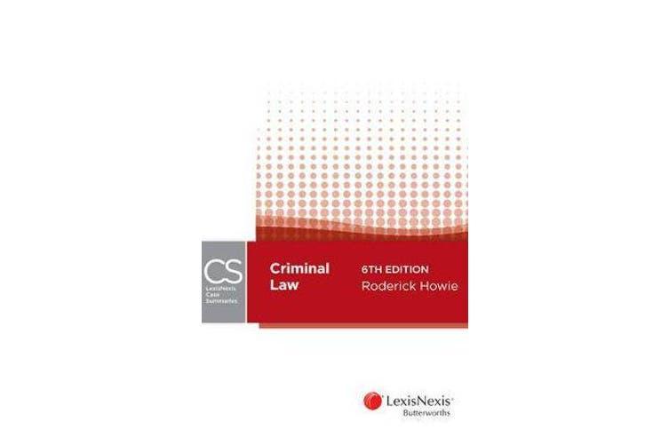 LexisNexis Case Summaries - Criminal Law