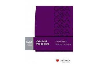 LexisNexis Questions & Answers - Criminal Procedure