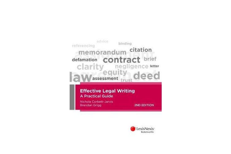 Effective Legal Writing - A Practical Guide