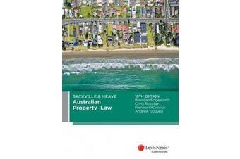 Sackville & Neave Australian Property Law