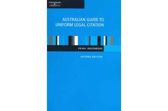 Australian Guide to Uniform Legal Citation,