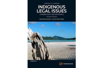 Indigenous Legal Issues - Commentary & Materials,