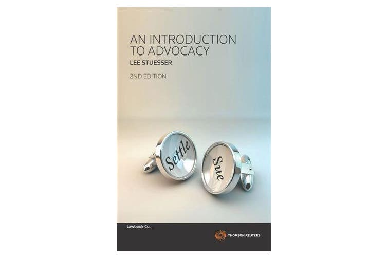 An Introduction to Advocacy