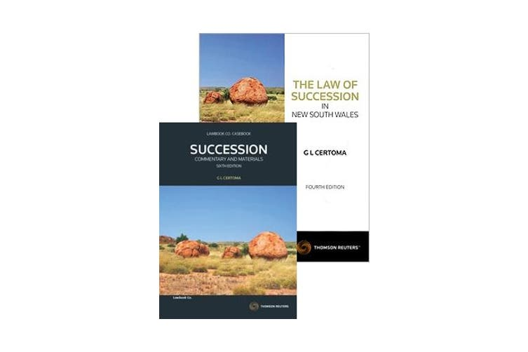 Succession - Commentary & Materials 6e/ The Law of Succession in NSW