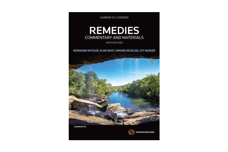 Remedies - Commentary and Materials