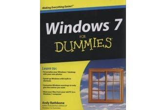 Windows 7 For Dummies, Book + DVD Bundle