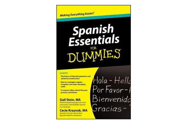 Spanish Essentials For Dummies