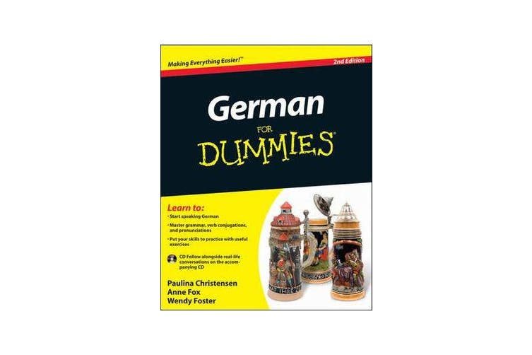 German For Dummies - (with CD)