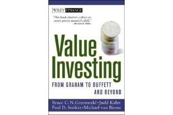 Value Investing - From Graham to Buffett and Beyond