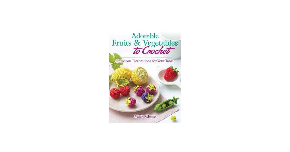 Amazon.com: Miniature crochet Fruits and Vegetables, Dollhouse ... | 630x1200