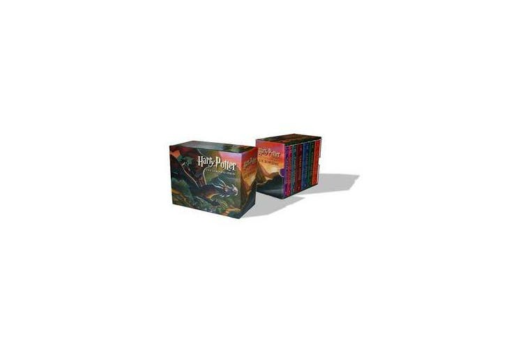 Harry Potter Paperback Boxed Set - Books #1-7