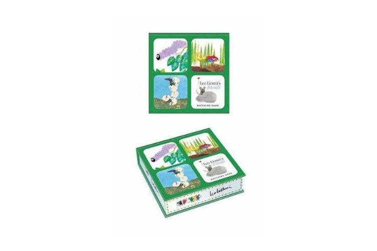 Leo Lionni's Friends Matching Game - A Memory Game with 20 Matching Pairs for Children