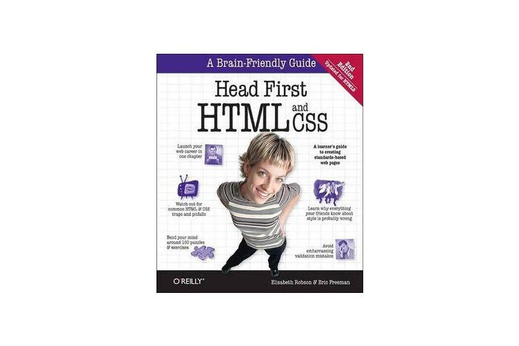 Head First HTML and CSS - A Learner's Guide to Creating Standards-Based Web Pages