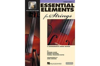Essential Elements for Strings - Book 2 with Eei - Violin