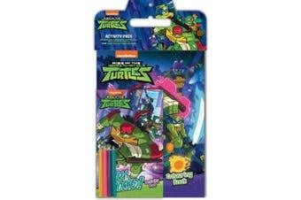 Rise of the Teenage Mutant Ninja Turtles Activity Pack