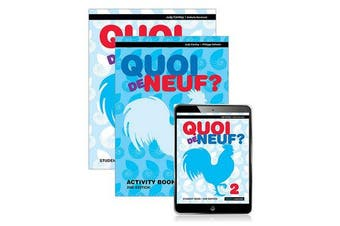 Quoi de Neuf ? 2 Student Book, eBook and Activity Book