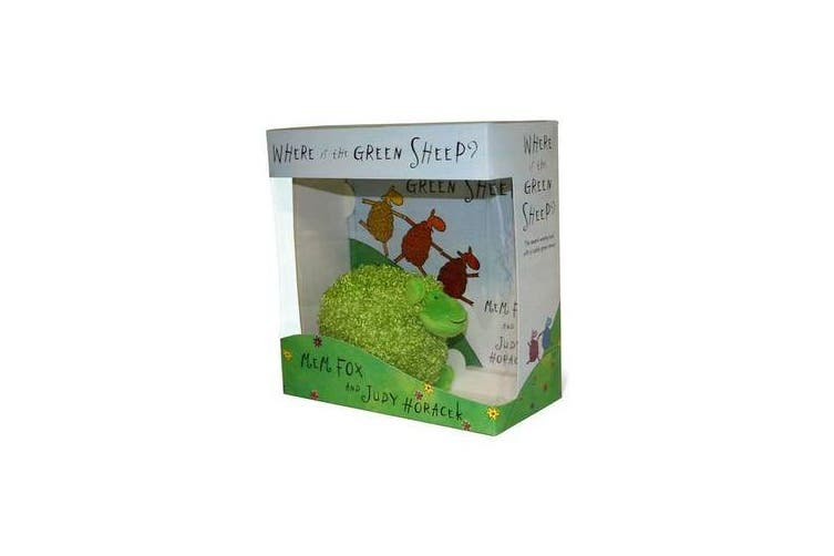 Where Is The Green Sheep? Hardback Book And Plush Toy BoxedSet
