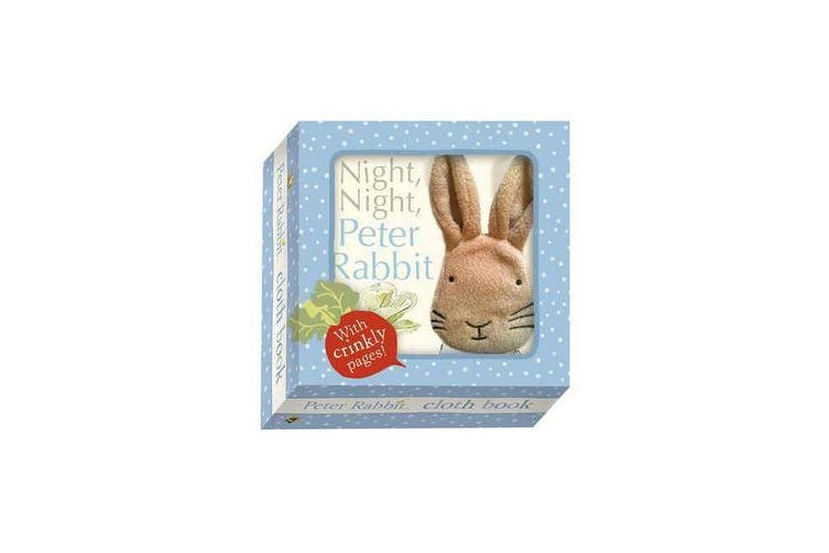 Night Night Peter Rabbit - Cloth Book