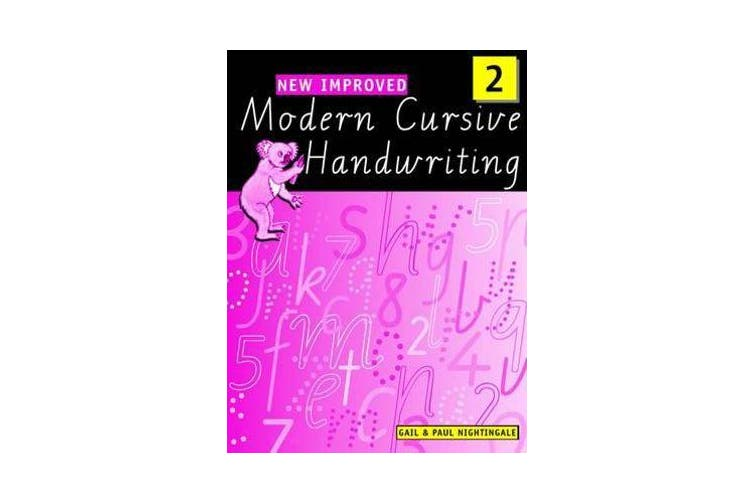 New Improved Modern Cursive Handwriting Victoria Year 2