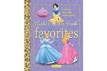 Disney Princess Little Golden Book Favorites Volume 2 (Disney Princess)