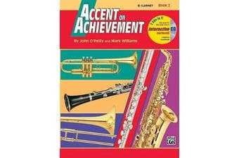 Accent on Achievement, Bk 2 - B-Flat Clarinet, Book & CD