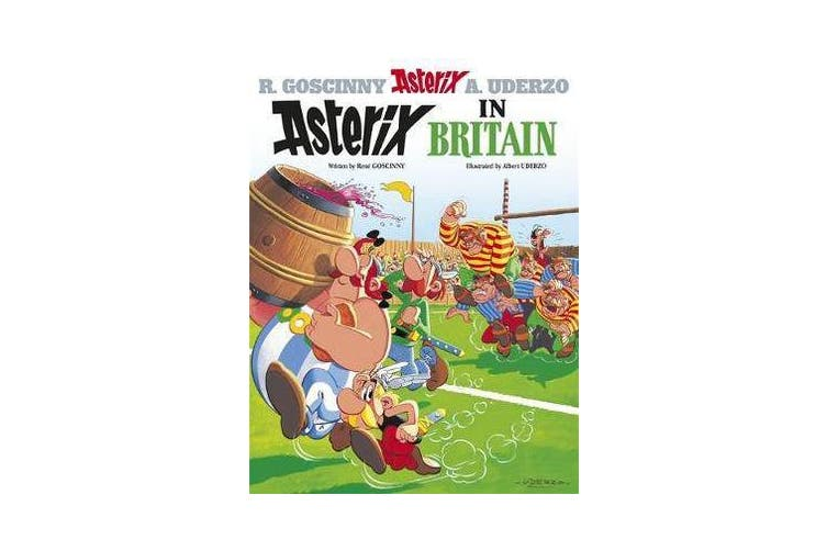 Asterix: Asterix in Britain - Album 8