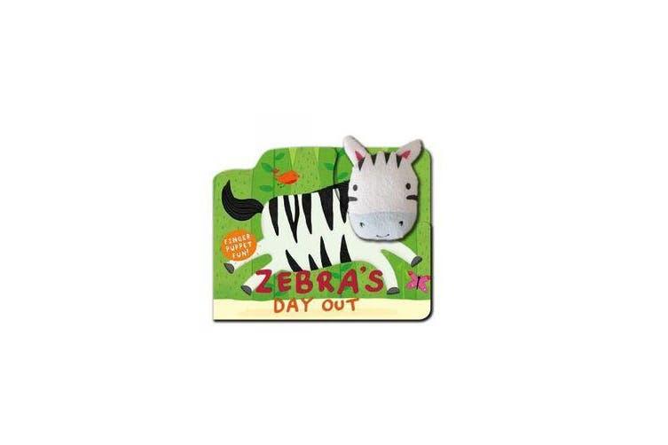 Softie Book - Zebra