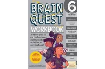Brain Quest Workbook Grade 6