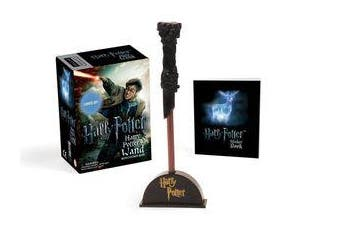 Harry Potter Wizard's Wand with Sticker Book - Lights Up!