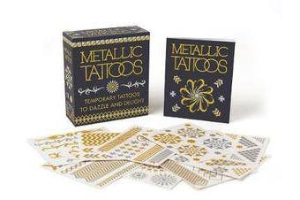Metallic Tattoos - 15 Temporary Tattoos to Dazzle and Delight