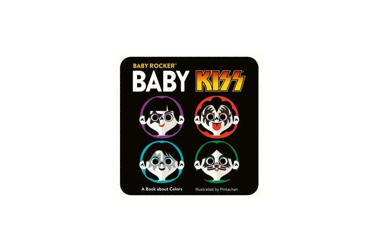 Baby KISS - A Book about Colors
