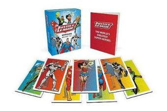 Justice League: Morphing Magnet Set - (Set of 7 Lenticular Magnets)