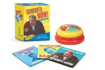 Seinfeld: Serenity Now! Talking Button - Featuring the voice of Frank Costanza!