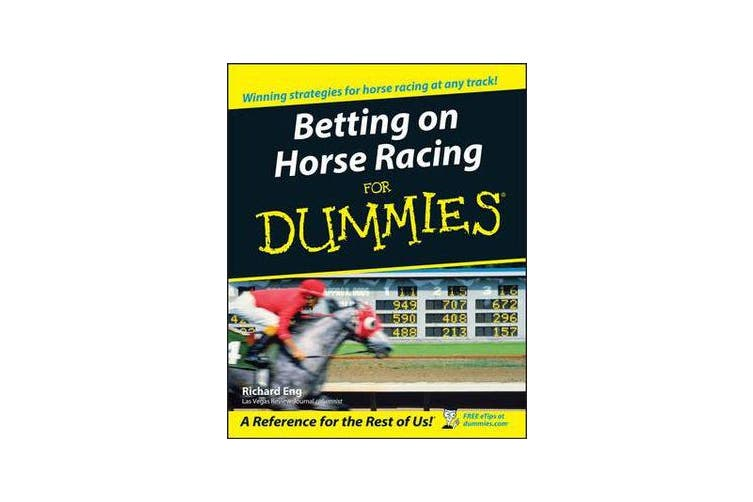 Books about horse racing betting for dummies top 10 cryptocurrency 2021 movies