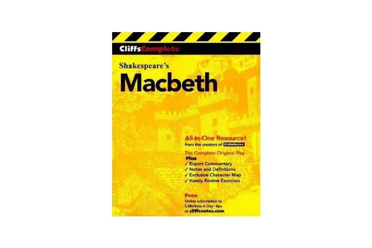 Macbeth - Complete Study Edition