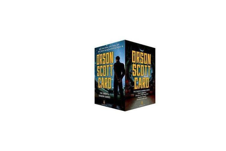 The Ender's Shadow Series Boxed Set - Ender's Shadow, Shadow of the Hegemon, Shadow Puppets, Shadow of the Giant