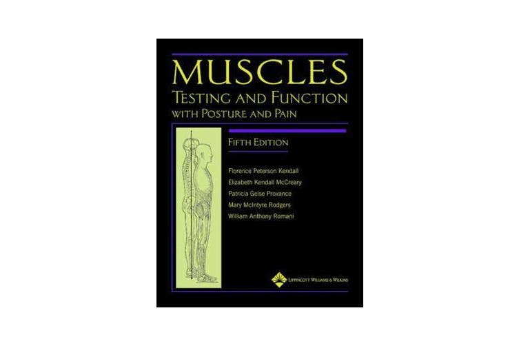 Muscles - Testing and Function, with Posture and Pain