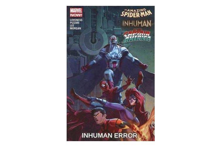 Amazing Spider-man/inhuman/all-new Captain America - Inhuman Error