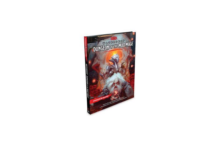 Dungeons & Dragons Waterdeep - Dungeon of the Mad Mage (Adventure Book, D&d Roleplaying Game)