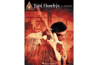 Jimi Hendrix - Live At Woodstock - Guitar Recorded Versions