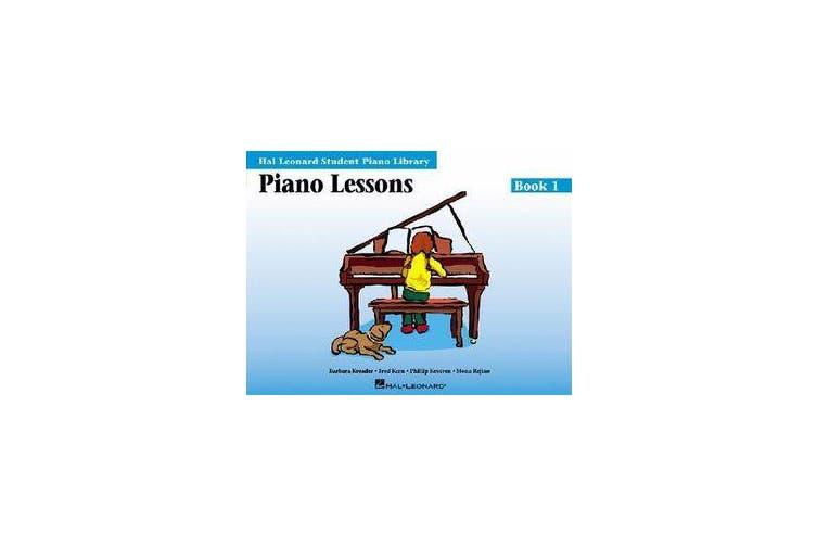 Piano Lessons Book 1 - Hal Leonard Student Piano Library