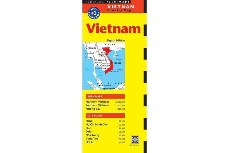 Vietnam Travel Map Eighth Edition