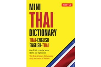 Mini Thai Dictionary - Thai-English English-Thai