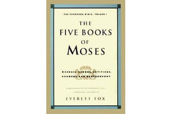The Five Books of Moses - Genesis, Exodus, Leviticus, Numbers, Deuteronomy