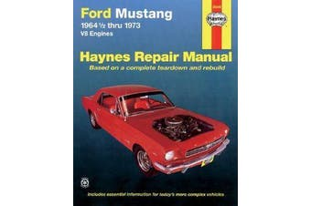 Ford Mustang V8 Owner's Workshop Manual
